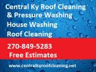 www.centralkyroofcleaning.net  Pressure washing