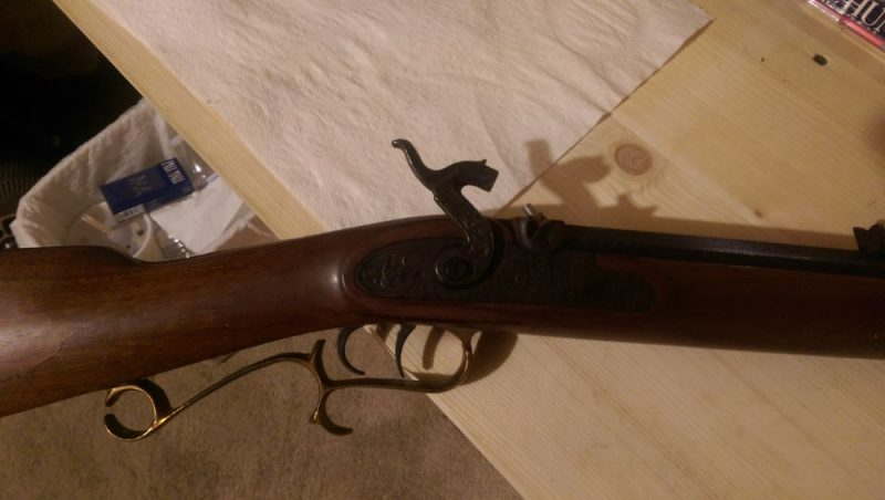 Thompson center arms, 45 cal  Musket - Kentucky Indiana